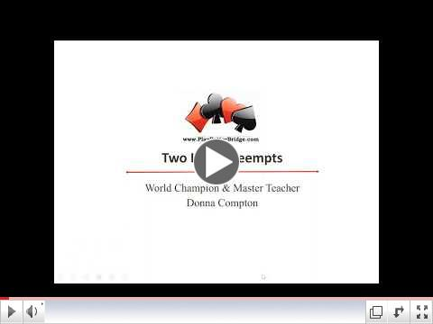 5 Minute Video Clip from Two Level Preempts Lesson Video
