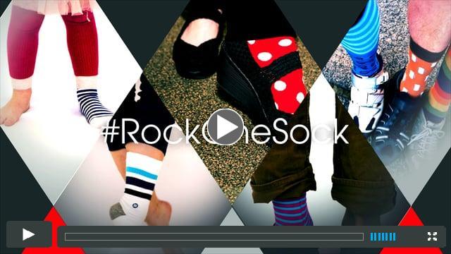 #Rock One Sock PSA for NCMEC