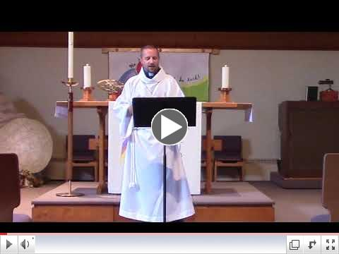 Chris Schaefer's Sermon -