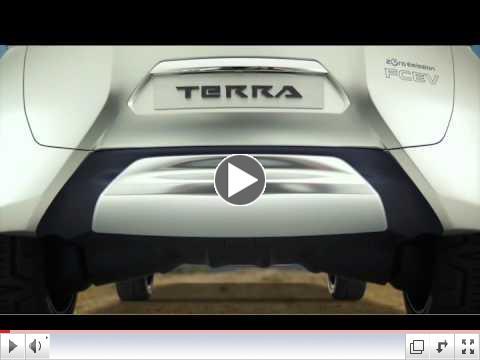 Zero Emissons,  Zero Limits:  Nissan's TeRRA SUV concept