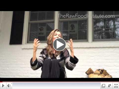 January Raw Food Institute Promotion
