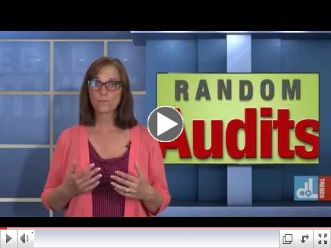 Beware of Random Audits
