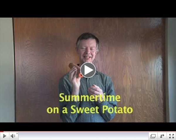 Summertime On A Sweet Potato Cornetto