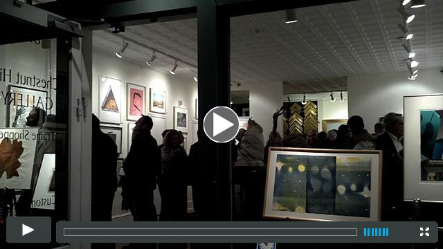 American Color Print Society 74th Annual reception at Chestnut Hill Gallery