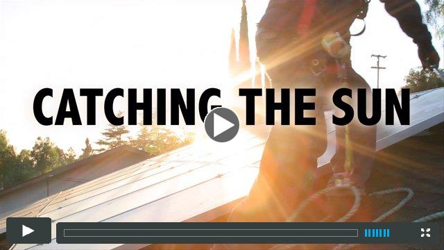 CATCHING THE SUN Trailer