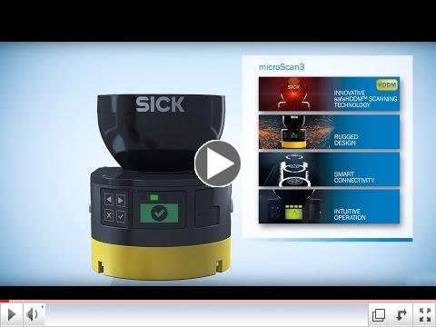 microScan 3 Safety Laser Scanner