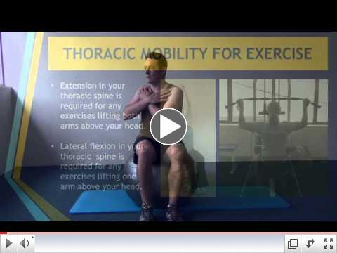 Thoracic Mobility - Sit twist exercises