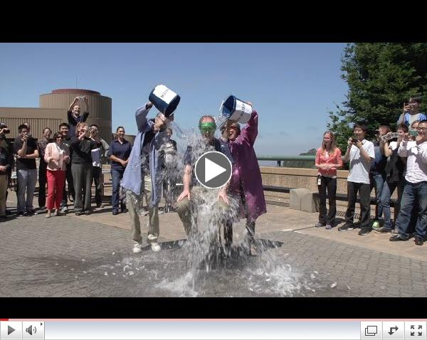Paul Alivisatos Accepts ALS Ice Bucket Challenge