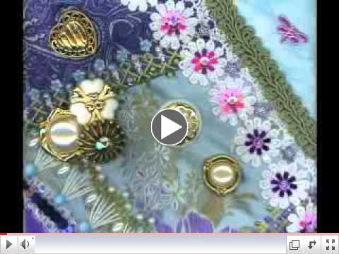 The Crazy Button Quilt