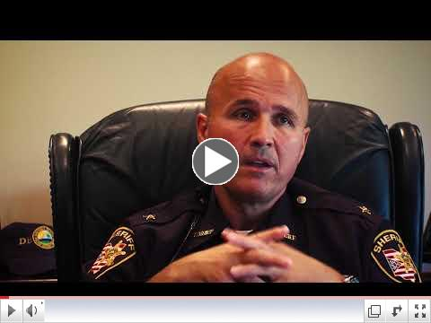 Sheriff Steve Leahy speaks about the impact of directed patrols on drug-related crimes.