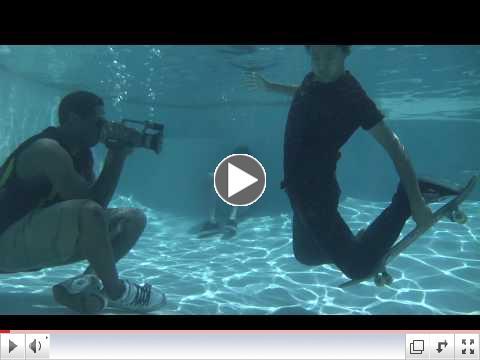 Underwater Skateboarding