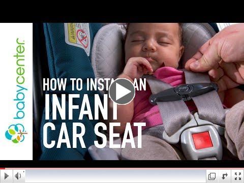 Infant car seat installation | California Highway Patrol