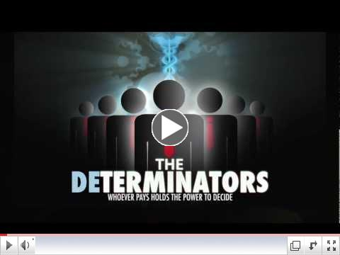 The DETERMINATORS Movie DVD