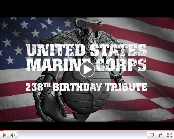 United States Marine Corps 238th Birthday Tribute 2013
