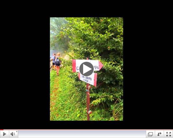 CIMBA Fall 2014 Students Climb Monte Grappa