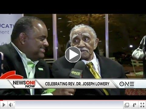 Click the video to see highlights of Dr. Lowery's 96th birthday tribute.