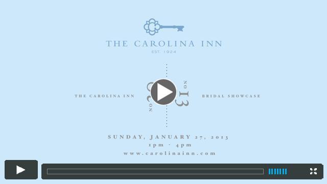 Carolina Inn Bridal Showcase 2013
