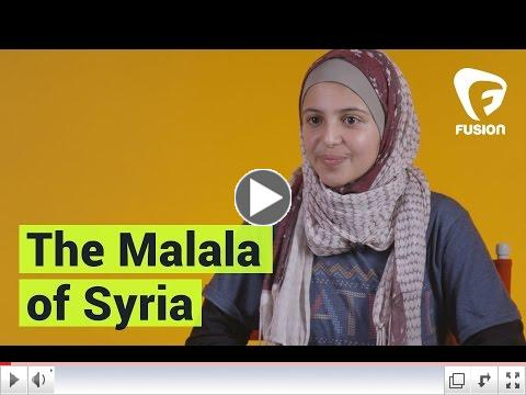 The 'Malala of Syria' Started a Girls Education Campaign/ Fusion