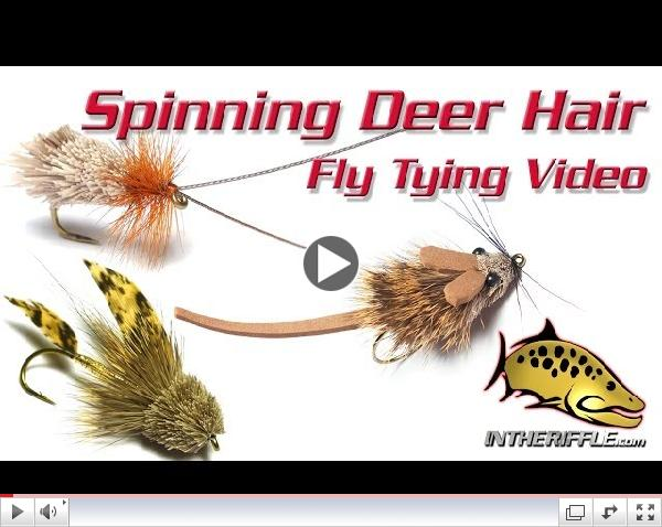 Spinning & Stacking Deer Hair Fly Tying Video - Tips and Tricks