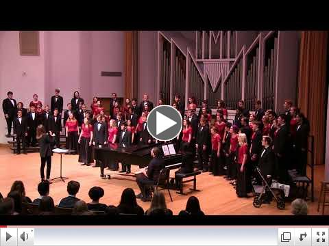 Watch Concert Choir's WWU Choral Festival Performance
