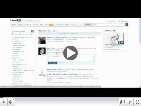Linkedin Tutorial- Signal (Search Status Updates)