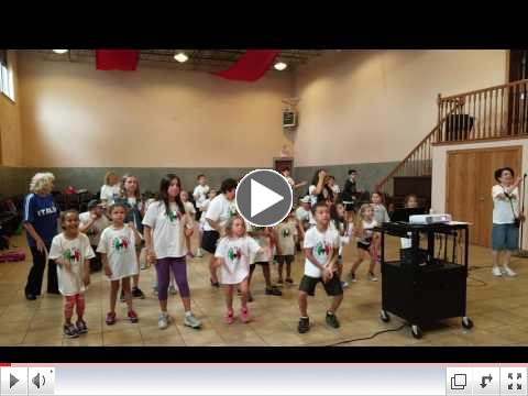 Dance Practice #2 Casa Italia Summer Camp