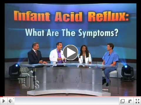 Symptoms and Treatment for Infant Acid Reflux