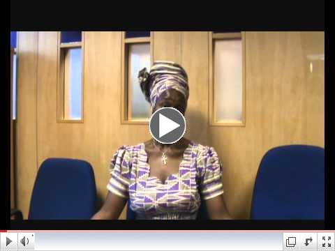 Video Testimonials from Introduction to Black Studies Students 2011 Part 2