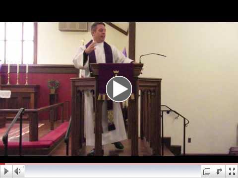 Sermon on March 12, 2017