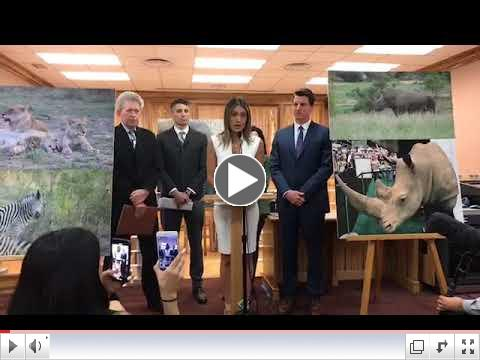 SB 1487 Iconic Endangered Species Protect Act - Press Conference 4-24-18