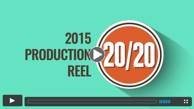 20/20 Visual Media: 2015 Production Reel