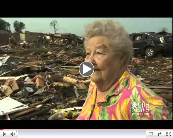 Tornado Survivor Finds Dog During TV Interview