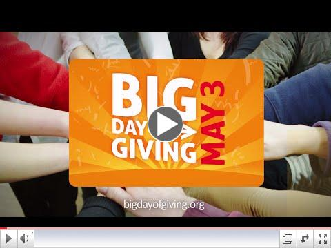 WHY give on the BIG Day of Giving?