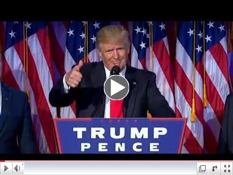 Trump's Acceptance Speech