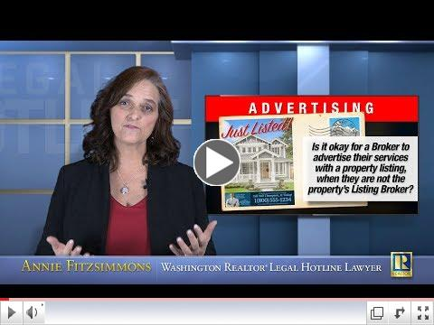 Can you advertise Listings that aren't yours?