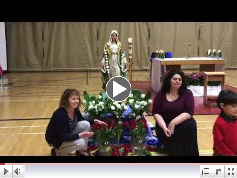 Annual Crowning of Mary