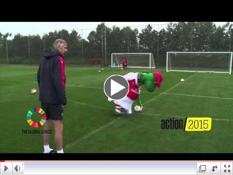 Arsenal #DizzyGoals Challenge