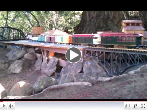 G-Scale 17-Car Consist Test Run at Lucky Mojo