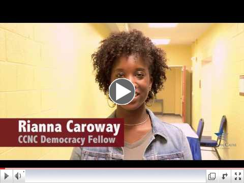WSSU student leads effort to bring voting site to campus