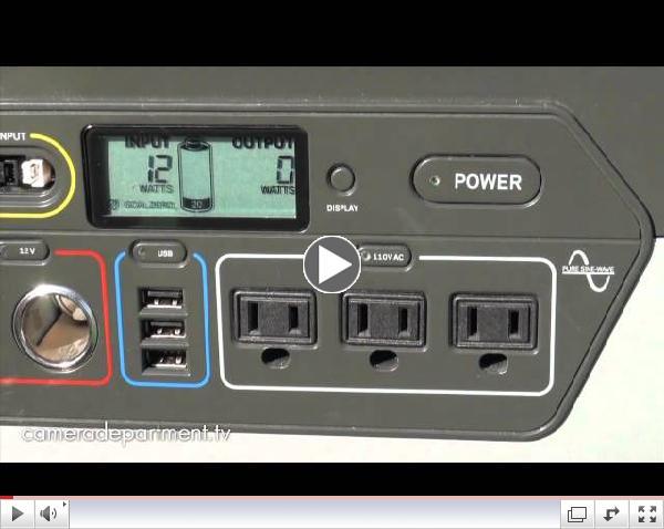 Goal Zero - Yeti 1250 Solar Generator System - CES 2012