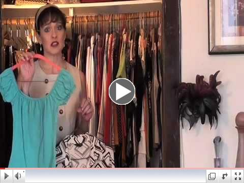 How 2 Downsize Your Closet