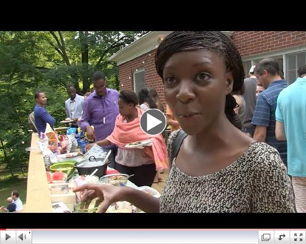 YALI at W&M: The barbecue