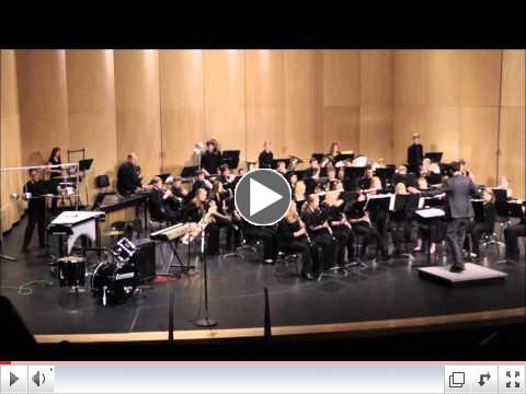 WMHS Band Concert, November 25, 2014