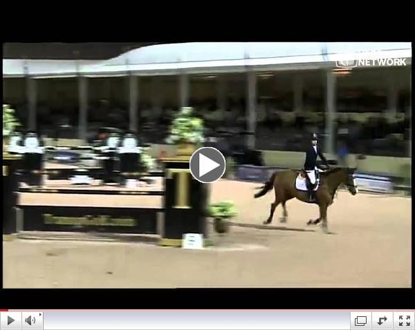 Eiken Sato & Espyrante Wins the #FTIWEF$82,000 Horseware Ireland Grand Prix