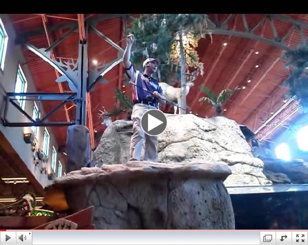 Ben Stein explains the MicroWave guides at Bass Pro Orlando