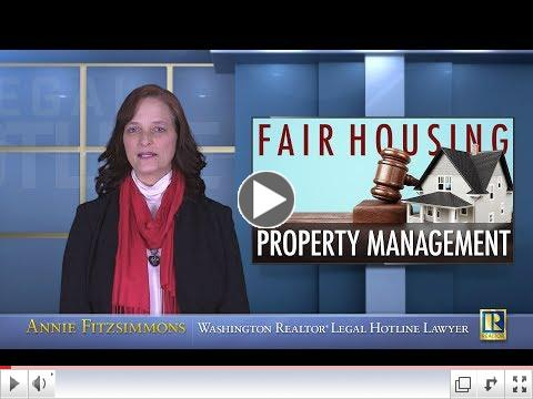 Fair Housing, Property Management