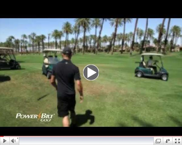 Cub Swanson in the Gym and on the Links with PowerBilt Golf