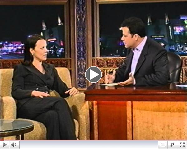 Debi Mazar on Jimmy Kimmel Live chats about Graffiti Rock!!!
