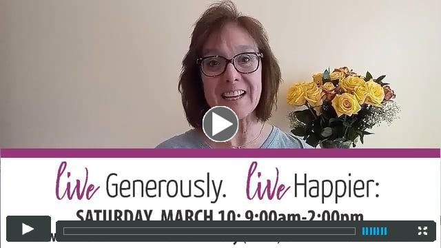 Generosity Project Invite