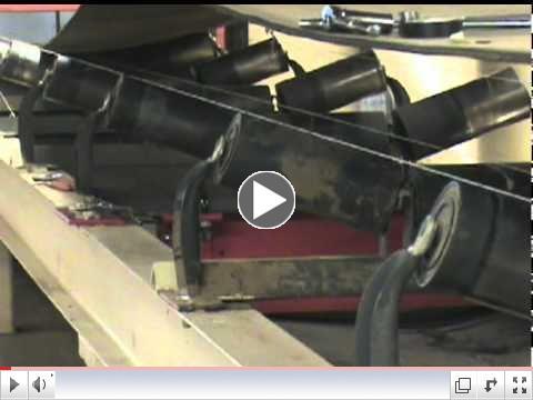 Milltronics MSI belt scale installation